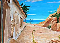 Ruine mit Blick auf`s Meer von jefroh
