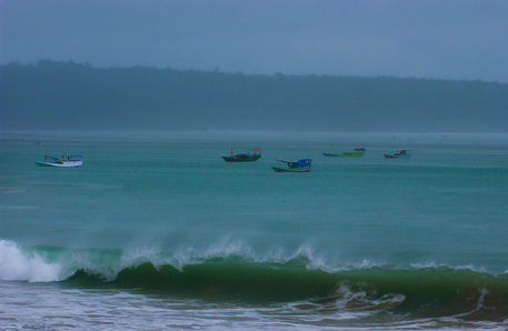 Bali-fishermen