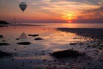 Balloon Flight at Sunset by Nigel Jones