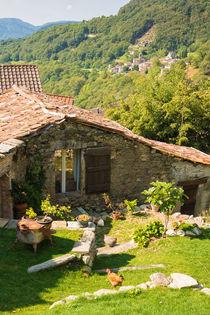 Schönes altes Steinhaus im Tessin Schweiz von Matthias Hauser