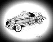 1935 Duesenberg SSJ Roadster von Linda Ginn