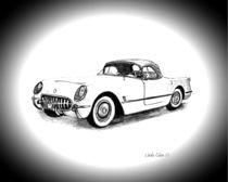 1954 Chevrolet Corvette von Linda Ginn