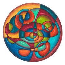 Inner Tubes Mandala by themandalalady