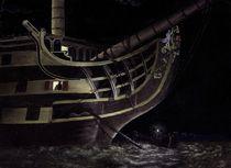 Nocturnal Victory (oil on canvas) von maritime-art