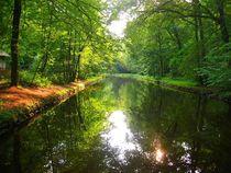 Fluss im Schlossgarten by ann-foto