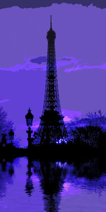 Eiffel Tower by David Pringle