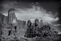 Fisher Towers by Ken Dvorak
