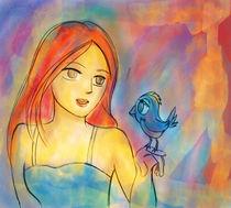 Girl Bird  von batsukiro