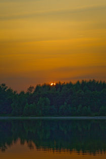 Canadian sunset by Stefan Antoni - StefAntoni.nl