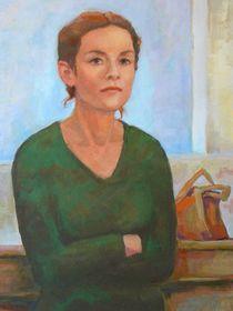 Isabelle Huppert  by alfons niex