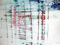 Nebel am Fluss | Detail IV von Kerstin Kell