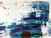 Nebel am Fluss | Detail I by Kerstin Kell
