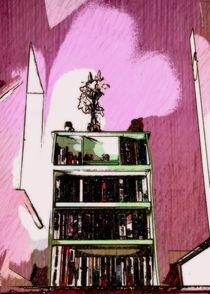 bookcase by Chrissy Woodhouse