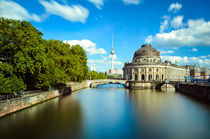 Museum island on Spree river, Berlin von Michael Abid