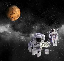 Hitchhiker Astronauts von Hunor Demeter