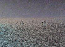 Distant Yachts  by David Pyatt