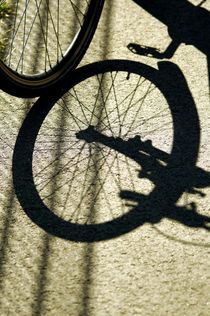 bike and shadow 9 - Rad und Schatten 9 by mateart