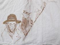 Minutenbilder - Männer mit Hut by susebee