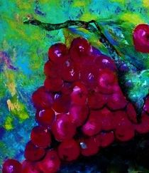 Red Grapes, Oh my my! by eloiseart