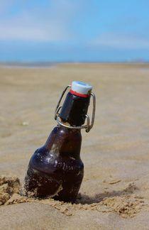 Flaschenpost by Michael Beilicke