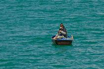 Fischer auf dem See von lisa-glueck
