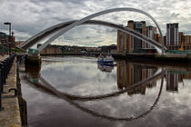 BALTIC & Gateshead Millennium Bridge von David Pringle