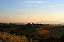 Toskana-Morgenstimmung von pichris