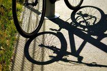 bike and shadow 10 - Rad und Schatten 10 von mateart