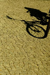 bike and shadow 11 - Rad und Schatten 11 by mateart