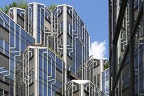 Glass Buildings and and Flowers von alina8
