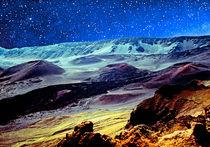 Haleakala Moonrise Maui Hawaii von Kevin W.  Smith