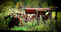 Old Rusted Tractor by Colleen Kammerer