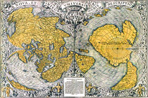 World Map 1531 by vintage