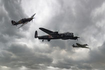 Battle of Britain Memorial Flight von James Biggadike