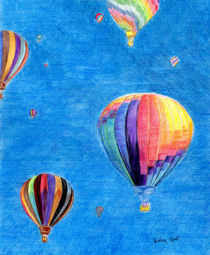 Up Up and Away by Linda Ginn