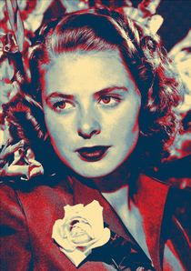 Ingrid Bergman by Art Cinema Gallery