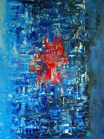 "Abstract painting ""City Beat"" von rvhart"
