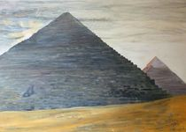Die Cheopspyramide im Morgenlicht von Matthias Wunsch