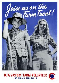 Be A Victory Farm Volunteer -- WWII by warishellstore