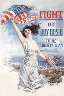 Fight or Buy Bonds -- WWI by warishellstore