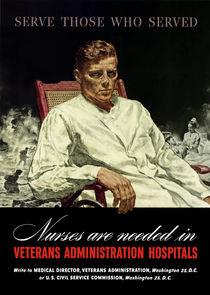 Serve Those Who Served -- Nurses Are Needed von warishellstore