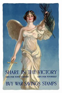 Share In The Victory -- Buy War Savings Stamps von warishellstore