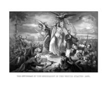 The Outbreak Of Rebellion In The United States 1861 von warishellstore