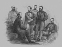 President Lincoln and His Commanders von warishellstore