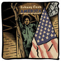 Johnny Cash America by Mychael Gerstenberger