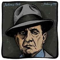 Johnny Cash Johnny 99 von Mychael Gerstenberger