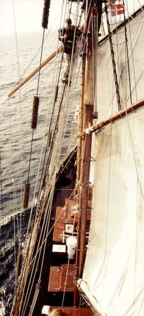 On the mizzen I von maritime-art