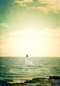 Now, bring me that horizon by Sybille Sterk
