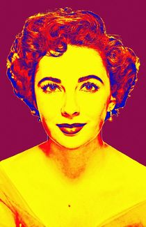Elizabeth Taylor von Art Cinema Gallery