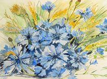Kornblumen von Maria Földy